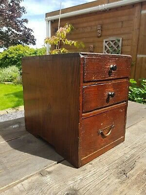 Antique / Vintage Japanese Drawers Early 1900s • 45£