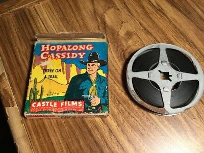 $ CDN55 • Buy Hop Along Cassidy- 8mm Film-  Castle Films - Used See Pics