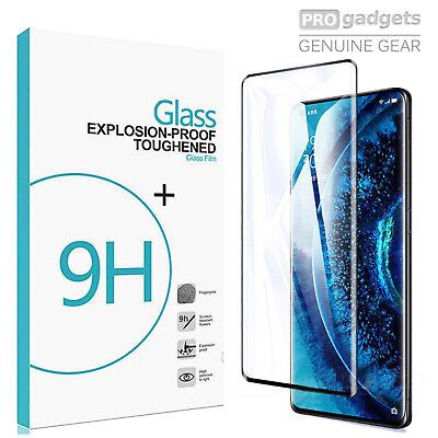 AU8.99 • Buy Full Cover 9H Tempered Glass Screen Protector For Oppo Find X2 Neo/ Pro/ Lite