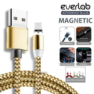 AU8.99 • Buy AU 360° Charging Cable Magnetic Charger IOS Lightning Type-C Micro USB