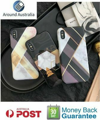 AU6.99 • Buy For IPhone XR XS MAX X 7 8 PLUS Soft TPU Case Marble Shockproof Silicone Cover