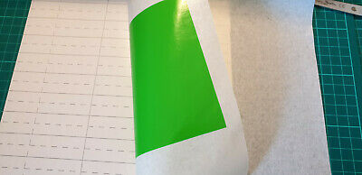 10 A4 Paper Application Transfer Tape Medium Tac For Self Adhesive Vinyl Users • 8.50£