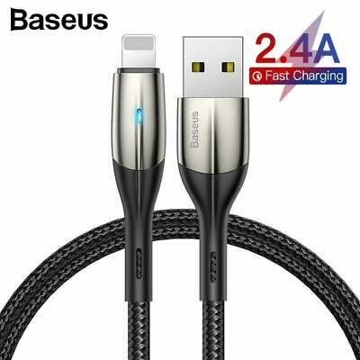 AU10.99 • Buy Baseus Lightning Cable Fast Charging Charger Cord For IPhone XS XR 8 7 6 IPad