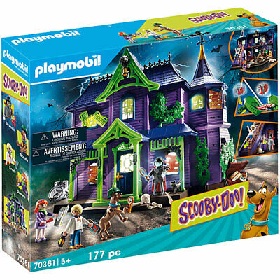 £73.95 • Buy Playmobil 70361 Scooby Doo! Mystery Mansion