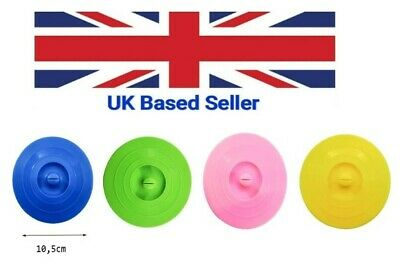 £1.95 • Buy Silicone Cup Lids; Circle Cup Cover; Anti-dust Airtight Seal Mug Cover