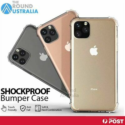 AU4.89 • Buy Clear Shockproof Bumper Back Case Cover For IPhone 12 11 Pro XS MAX X XR  8 Plus
