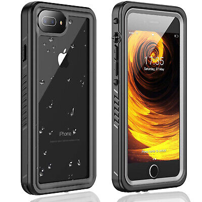 AU26.99 • Buy For Iphone 8 Plus Case Waterproof Shockproof Built-in Screen Protector Iphone 7