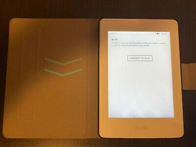 AU50 • Buy As New Amazon Kindle Paperwhite 3rd (7th Generation) With Folio Case