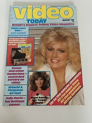 Vintage Video Today Magazine August 83 • 22.99£