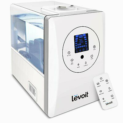 AU165.81 • Buy Levoit Humidifier For Home Bedroom 6L, Warm & Cool Mist Essential Oil Diffuser,