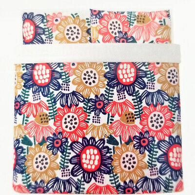 New In Package Ikea King SOMMARASTER Duvet Cover With 2 Pillowcase Multicolor • 26.57£