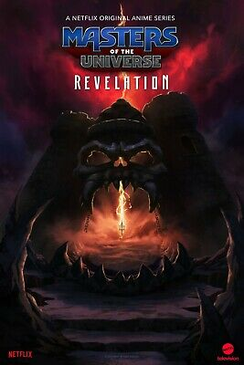 $11.99 • Buy Masters Of The Universe Revelation Poster  -  11 X 17 Inches