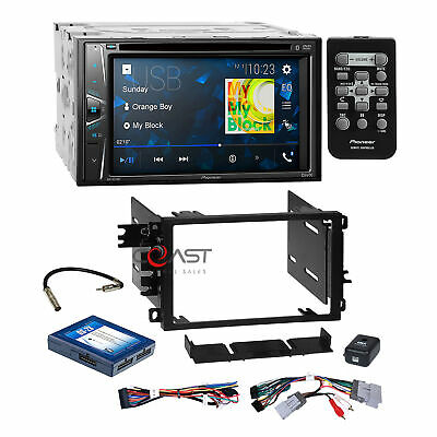 $349.95 • Buy Pioneer DVD USB BT Camera Input Stereo Dash Kit Onstar Amp Harness For GM Chevy
