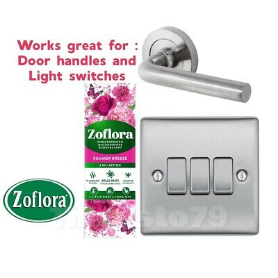 Zoflora SUMMER BREEZE- 3 In 1 Action Concentrated Disinfectant 250ml • 6.50£