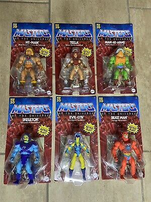 $44.99 • Buy NEW 2020 UNPUNCHED MOTU Masters Of The Universe Origins He-Man Evil Lyn Beast