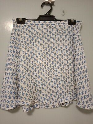 AU45 • Buy Tigerlily Blue And White Short Skirt In Size 10