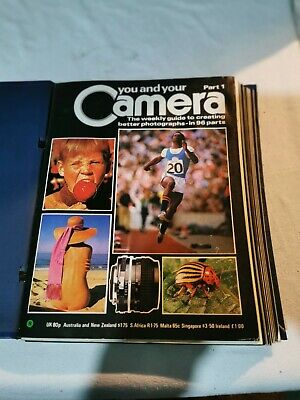 You And Your Camera Vintage 1979 Magazines - PART 1 To 12 • 15£