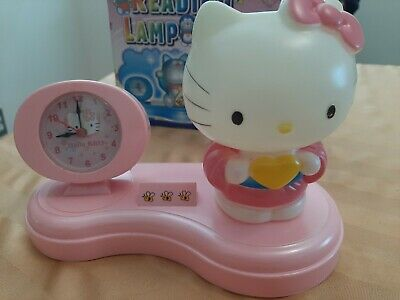 £23.27 • Buy Vintage Hello Kitty Reading Lamp And Clock