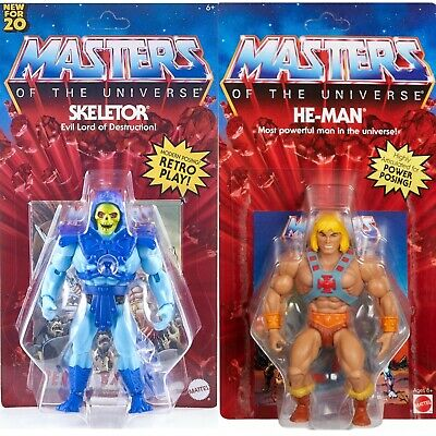 $59.77 • Buy He-man & Skeletor 5.5  Masters Universe Motu Origins 2020 Walmart New Lot Retro
