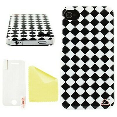 Advanced Accessories Mono Harlequin Swanky Hard Back Case For IPhone 4/4S • 22.20£