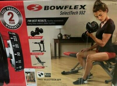 $ CDN473.20 • Buy Bowflex SelectTech 552 SINGLE ONE Adjustable Dumbbell Weight SHIPS NEXT DAY!