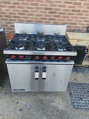 Moorwood Commercial 6 Burners Cooker With Oven Natural Gas Heavy Duty Oven  • 675£