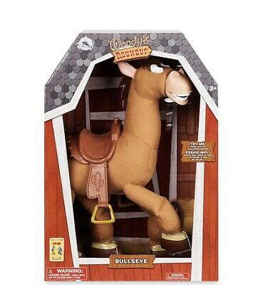 Toy Story 4 Talking Bullseye Horse Galloping Interactive Action Figure **NEW** • 44.99£