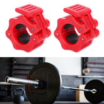 $ CDN14.34 • Buy 2Pcs 25mm Safety Lock Clip Buckle Barbell Dumbbell Fast Locking Clamp Buckle