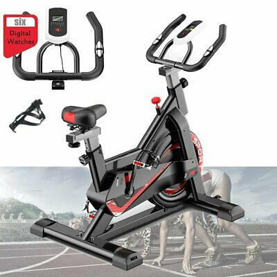 Spin Bike Home Cardio Exercise Spinning Flywheel Fitness Training Indoor Machine • 167.99£