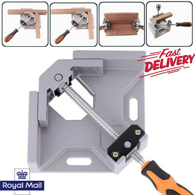 4X 90° Degree Corner Clamp Right Angle Clamps Woodworking Vice Wood Metal Weld  • 9.29£