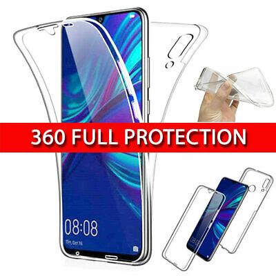 Full Body Front & Back Shockproof 360 Case For Huawei P40, P30, Pro, Lite, Etc • 2.49£