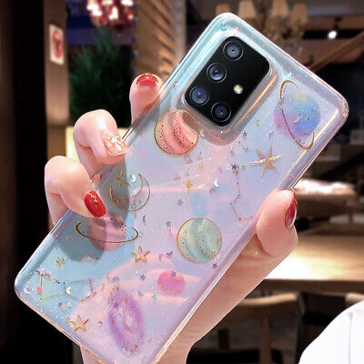 $ CDN4.69 • Buy Glitter Planet Soft Case Cover For Samsung Galaxy Note 20 Ultra S20 A51 A71 A21S