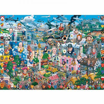I Love Great Britain - 1000 Piece Puzzle • 15.94£