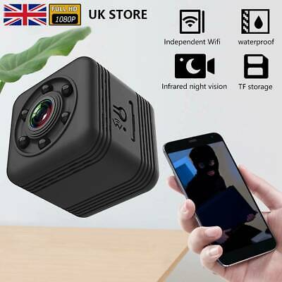 £18.99 • Buy Mini HD Wireless Wifi Camera IP CCTV Night Vision In/Outdoor Home Security