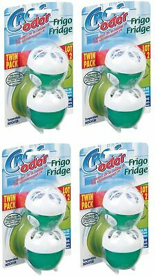 8x Croc Odor Twin Pack Fridge Fresh Neutralise Smell Odour Fresheners Deodoriser • 12.99£