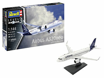 Revell 1/144 Airbus A320neo Lufthansa New Livery # 03942 • 22.27£
