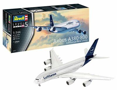 Revell 1/144 Airbus A380-800 Lufthansa New Livery # 03872  • 29.50£