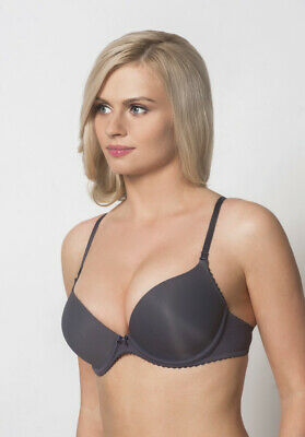 Push-Up Bra Women Gel Soft Cups Underwired New Small Sizes Removable Straps • 27£
