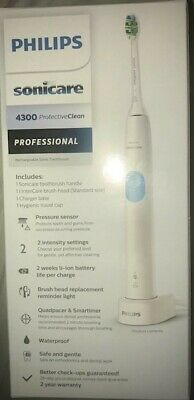 View Details Philips ProtectiveClean Series 4300 Electric Toothbrush - Blue. • 49.99£
