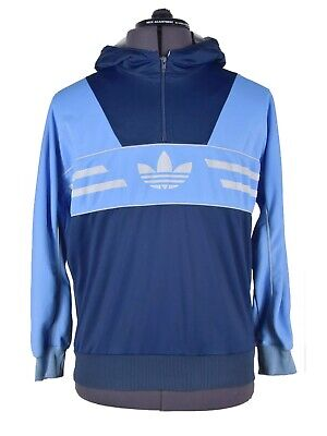 Adidas Manhattan Men's Vintage Track Top Jacket Hoodie Colorado • 78.49£