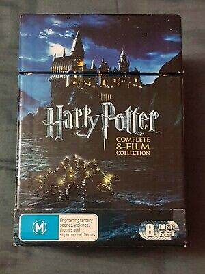 $ CDN77.77 • Buy 🔶️harry Potter Complete 8 Film Collection 8 Disc Dvd Boxed Set Excellent Rg4 Oz