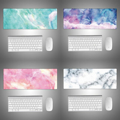AU16.65 • Buy Extra Large Gaming Work Mouse Pad Desk Mat Anti-slip Rubber Marble Keyboard Pad