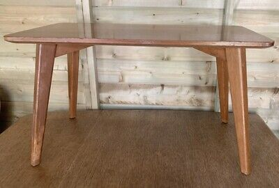 Vintage Retro Rare G Plan E Gomme Coffee/Side Table Gold Label • 85£