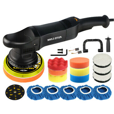 6  Car Polisher Dual Action Buffer Sander Orbital Polishing Machine Wax Pads Kit • 71.69£