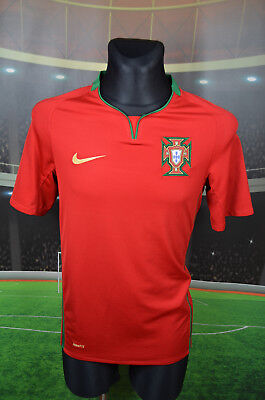 Portugal Nike 2008-10 Home Football Soccer Shirt (s) Jersey Top Trikot Maglia • 15.99£