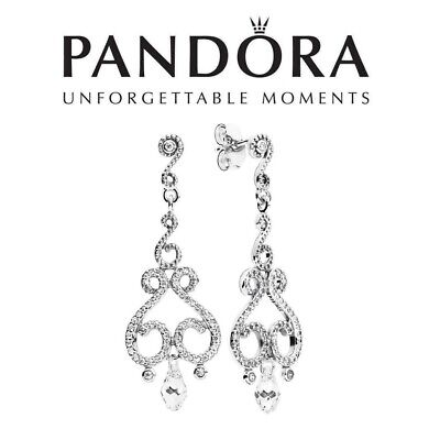 Pandora Swirling Chandelier Drop Earrings • 39.99£
