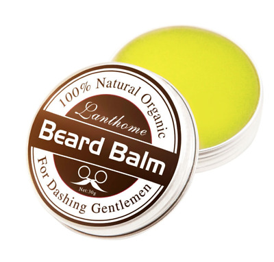 Mens Beard Wax Natural And Organic Ingredients For Bears And Moustache 30g Tin • 5.99£