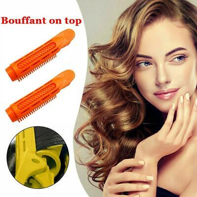 2 X Volumizing Hair Root Clips Curler Roller Wave Fluffy Clips Styling Tools • 2.29£