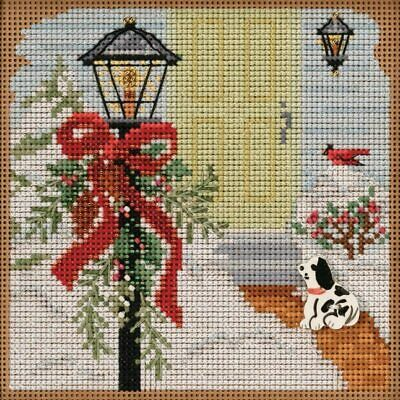 $12.99 • Buy Mill Hill Buttons & Beads Winter Series Cross Stitch Kit Christmas Welcome