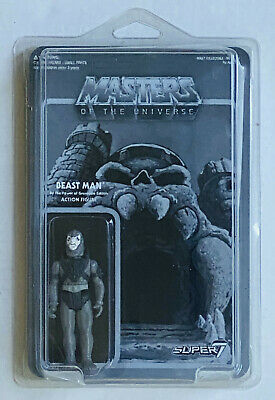$15.99 • Buy SEALED GRAYSCALE BEASTMAN SUPER7 REACTION MASTERS OF THE UNIVERSE Black & White